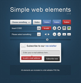 Simple Web Elements